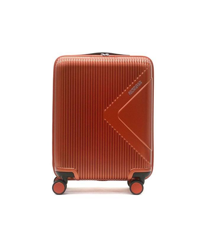 (AMERICAN TOURISTER/アメリカンツーリスター)【日本正規品】AMERICAN TOURISTER スーツケース 機内持ち込み MODERN DREAM Spinner 55 35L Samsonite 55/ユニセックス オレンジ