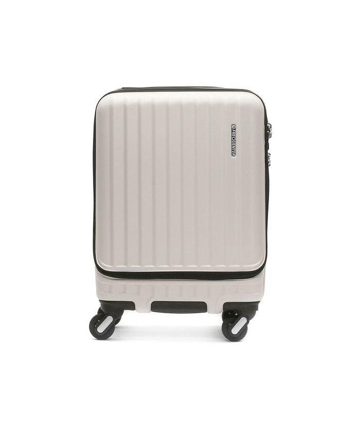 (FREQUENTER/フリクエンター)フリクエンター スーツケース FREQUENTER MALIE マーリエ 機内持ち込み Sサイズ 充電 キャリーケース 拡張 34L 1泊 2泊 1−282/ユニセックス アイボリー
