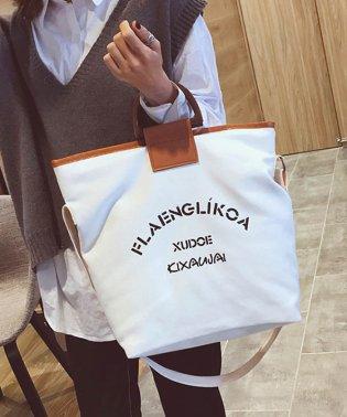 ショルダーバッグ レディース ハンドバッグ 鞄 キャンバス 韓国 肩掛け 手持ち リングハンドル