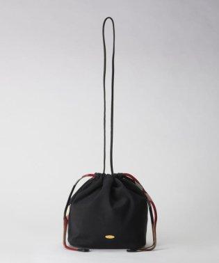 クレストブリッジチェックソフトツイル巾着バッグ