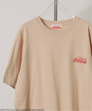 COCA-COLA / BACK PRINT COPY T-SH