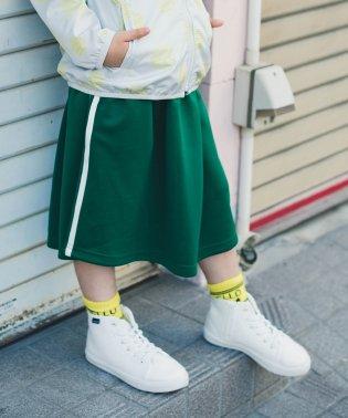 サイドラインジャージスカート