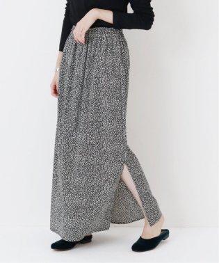 《WEB限定》JS+eレオパードプリントスカート