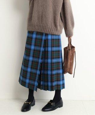 GLEN FYNE×SLOBE別注 プリーツスカート◆