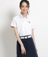 【吸水速乾/UVカット】アダバットロゴ半袖ポロシャツ