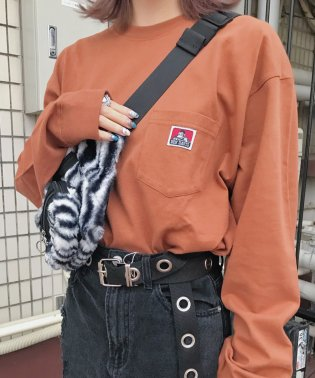 WEGO/ベンデイビス別注ポケットロンT