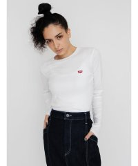ロングスリーブTシャツ BABY TEE WHITE +