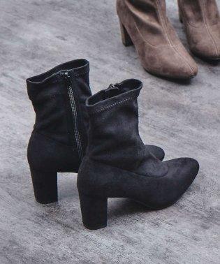 【販売店舗限定】ストレッチニットブーツ/ソックスブーツ