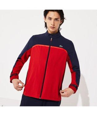 カラーブロッキングゴルフスイングトップジャケット