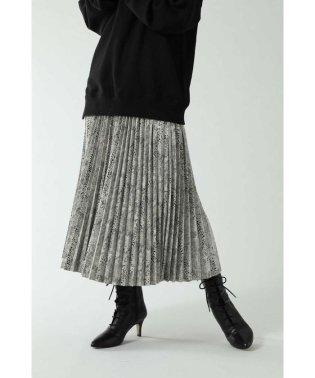 ロング丈プリーツスカート