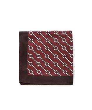 レトロプリントシルクスカーフ