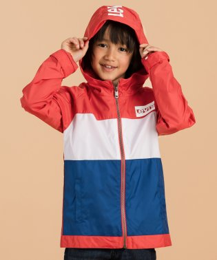 【KIDS】COLOR BLOCKED WINDBREAKER