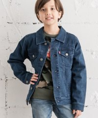 【KIDS】TRUCKER JACKET TWO TONE