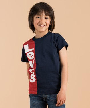 【KIDS】VERTICAL LOGO TEE