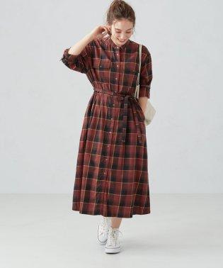 SC ビエラ リングドット シャツ ワンピース