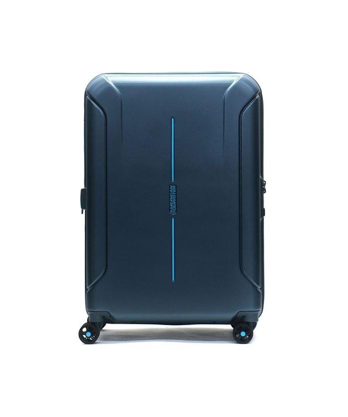 (AMERICAN TOURISTER/アメリカンツーリスター)【日本正規品】サムソナイト アメリカンツーリスター スーツケース AMERICAN TOURISTER スピナー68 73L 84.5L 37G−002/ユニセックス ブルー