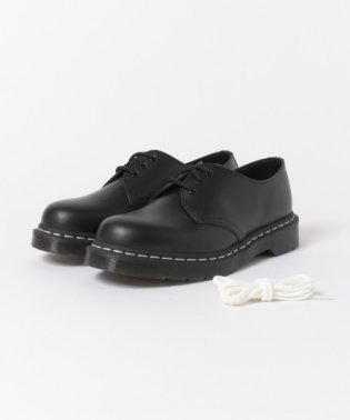 Dr.Martens 3EYE SHOE WHITE STITCH