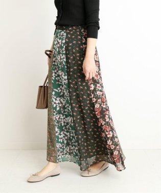 LISA フラワーパネルスカート