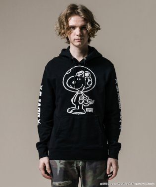 GRAPHIC PO HOODIE- B PEANUTS SPACED OUT
