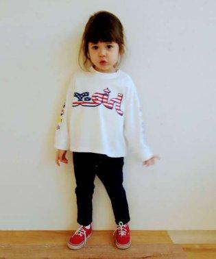 アメリカンロゴ長袖Tシャツ