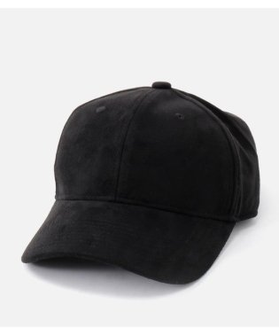 SUEDE TOUCH LOGO CAP