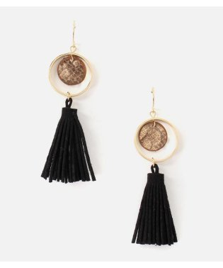 TASSEL PYTHON EARRINGS
