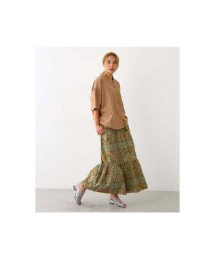 オリエンタル パターン スカート