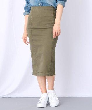 【洗える】ストレッチタイトチノスカート