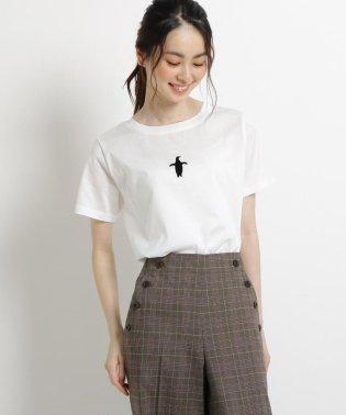 【洗える Lサイズ・Sサイズあり 日本製】コットンワンポイントTシャツ