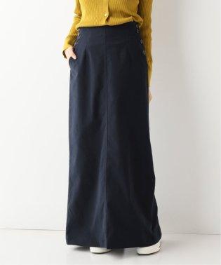 モールスキン ロングタイトスカート