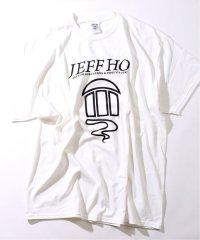 Jeff Ho / ジェフ・ホー FRONT PRINT Tシャツ