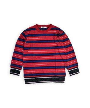 ロゴリブボーダーTシャツ(110cm~130cm)