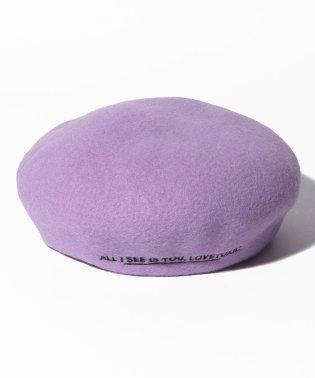 サイドロゴベレー帽