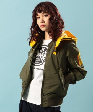 リモデル ボンバージャケット/REMODEL BOMBER JACKET【Avirex Military Camp】
