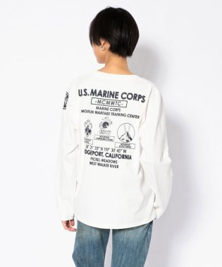クルーネック T-シャツ U.S.M.C/CREW NECK T-SHIRT【Avirex Military Camp】