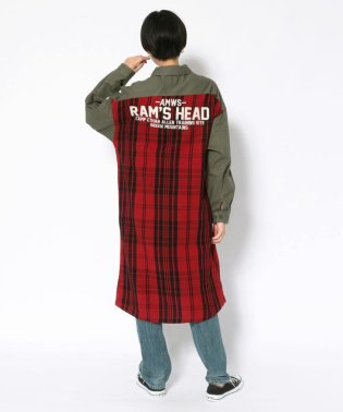 コンビネーション シャツ ワンピース/COMBINATION SHIRT ONE PIECE【Avirex Military Camp】