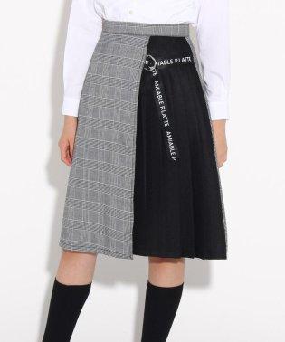 【卒服】リボン付 ラップスカート