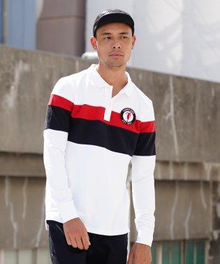 [GIORDANO]チャンピオンズ長袖ポロシャツ