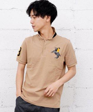 [GIORDANO]ナポレオン刺繍ポロシャツ