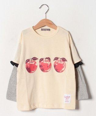 リンゴロングTシャツ