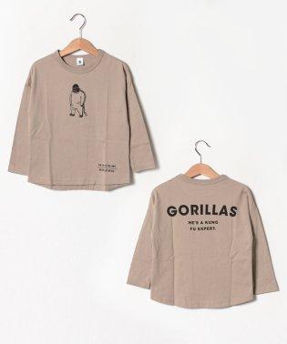 GORILLASロングTシャツ