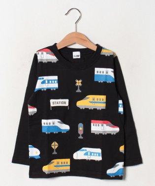 電車ロングTシャツ