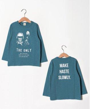 SNEAKERSロングTシャツ