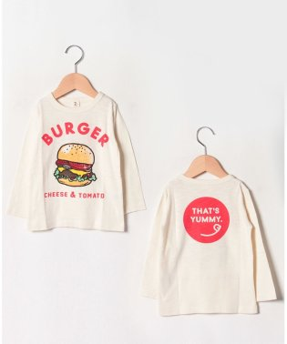 BURGERロングTシャツ