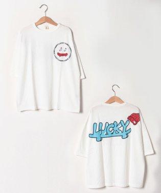 LUCKYロングTシャツ