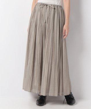 【mizuiro ind】pleats スカート