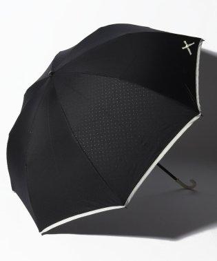 【晴雨兼用傘】プチリボンプリント折りたたみ傘 (UVカット&軽量)