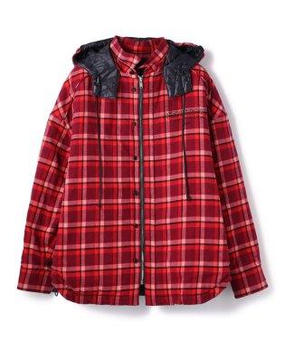 JUUN.J/ジューンジー/Hood CheckShirts