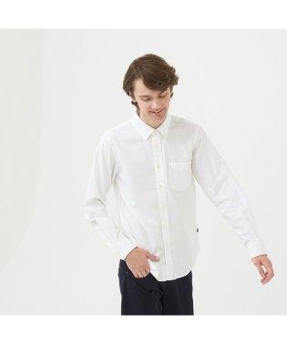 吸水速乾 オックスフォード 長袖シャツ