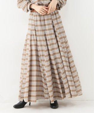 【CP SHADES】 コールチェックロングスカート